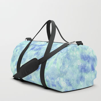 Blue lagoon Duffle Bag by Savousepate
