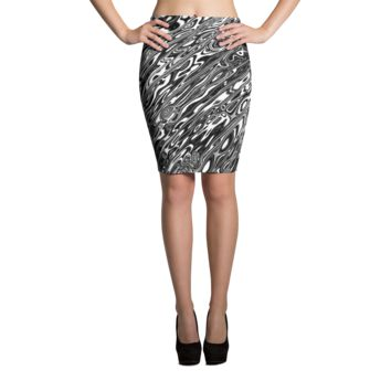 Dark Night Liquid Dreams Skirt