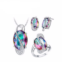 Opal Gemstone Jewerly Set