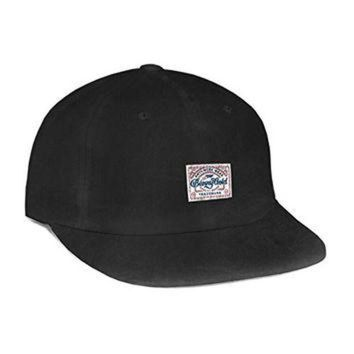 LMFON Benny Gold Mens Anti-Work Washed Polo Hat/Cap One Size Black