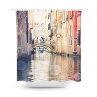 Venice 14 Bokeh Shower Curtain