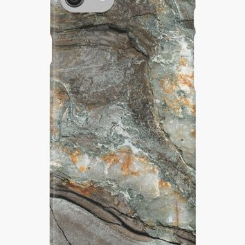 'Coast of Maine Rocks, No 2' iPhone Case/Skin by BrookeRyanPhoto