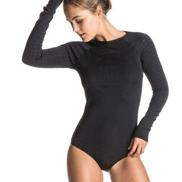 Pop Surf Long Sleeve One Piece Swimsuit ERJWR03072 | Roxy