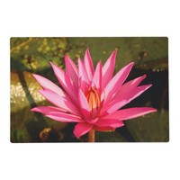 Lotus Flower in the Nature Placemat