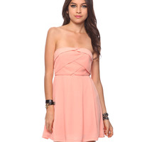 Cross Pleated Dress | FOREVER21 - 2000035132