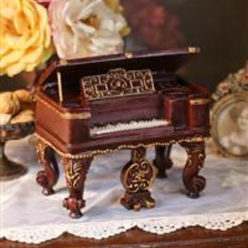 HARPSICHORD MUSIC BOX (BLUE DANUBE)
