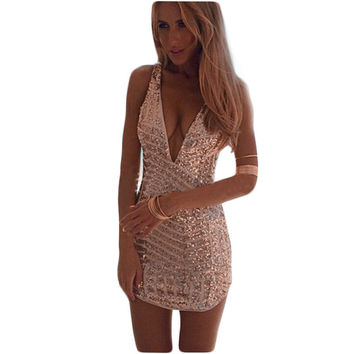 Summer Style Womens Sexy Dresses Party Night Club Dress Aliexpress2015Summer Sequined Dress Slimming Mujer Vestidos Dresses C169