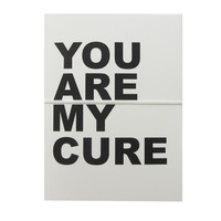 you are my cure note cards