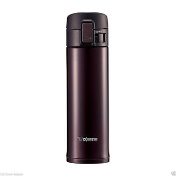 Zojirushi Stainless Steel Mug 480ml SM-KC48-VD Thermos Hot Coffee Water Bottle