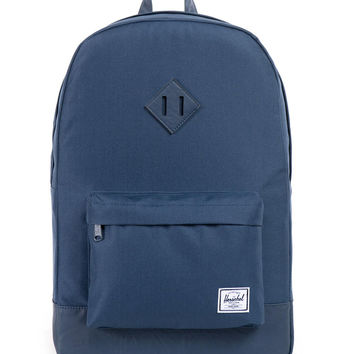 Herschel Supply Co. - Heritage Backpack (PU Leather-Navy)