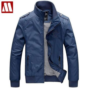 Factory Fashion Clothes Men's Jackets Polo Jacket for man Epaulet Windcheater Military