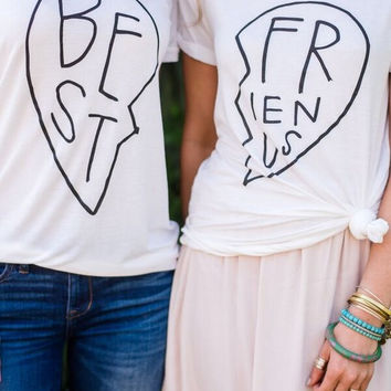 Best Friends Forever Tee - Set of 2