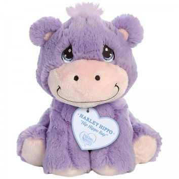 """Hip Hippo Ray - Harley Hippo"" Stuffed Animal, 8.5 Inches"