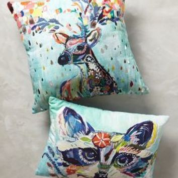 Mooreland Pillow by Starla Michelle Halfmann Multi