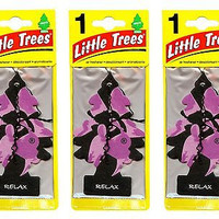 Relax Scented Little Trees Hanging Car Air Fresheners 24pk New! Sealed