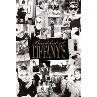 Pyramid Audrey Hepburn Breakfast at Tiffany's Collage Wall Poster