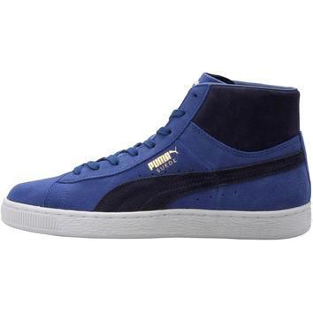 Puma Suede Mid Classic - Limoges/Peacoat/White