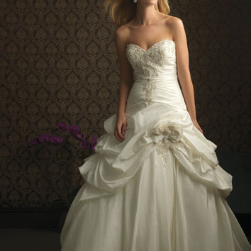 Allure Bridals 8752 Taffeta Ballgown Wedding Dress