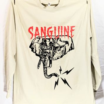 Sanguine Elephant LS T-shirt