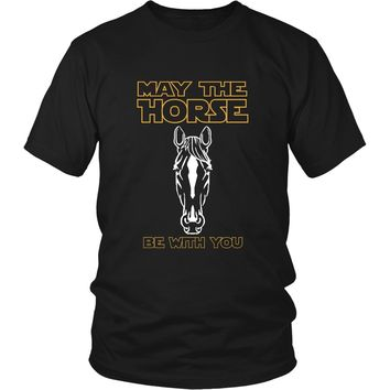 May The Horse Be With You Shirt (Front)