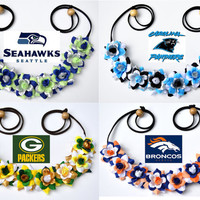 NFL Football Game Day Flower Crowns National Football League Team Spirit Sport Accessory Football Team Apparel Head Gear Headpiece Floral