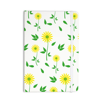 "Louise ""Daisy"" Yellow Green Everything Notebook"