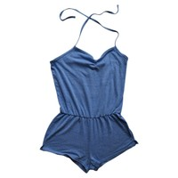 Short jumpsuit AMERICAN APPAREL Blue