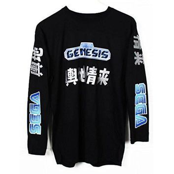 spbest Sega Genesis Japanese Long Sleeve T-Shirt