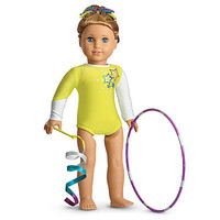 NEW American Girl McKenna's Rhythmic Gymnastics Performance Outfit Set:  Leotard
