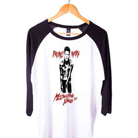 Bruno Mars Short Sleeve Raglan - White Red - White Blue - White Black XS, S, M, L, XL, AND 2XL*AD*