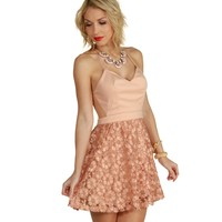 Sale-pretty Pink Peony Dress