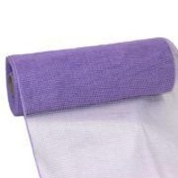 10in Wide x 30ft Long Poly Mesh Roll: Plain Lavender