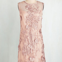Soiree of Life Dress in Blush | Mod Retro Vintage Dresses | ModCloth.com