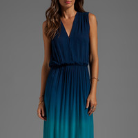 Young, Fabulous & Broke Missy Ombre Maxi in Navy