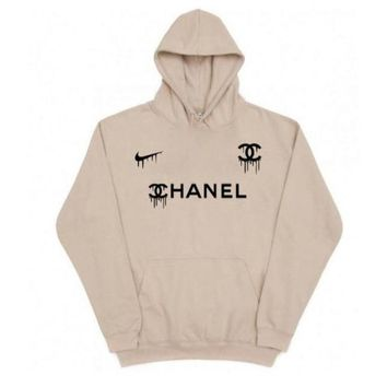 Chanel x Nike Fashion hoodies Top Sweater Sweatshirt
