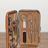 Bey-Berk Travel Manicure Set
