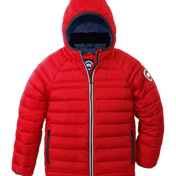 Sherwood Hooded Puffer Jacket Red Size Xs Xl Size:| Best Deal Online