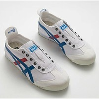 ASICS Onitsuka tiger Stripes Casual canvas shoes
