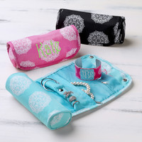 Maddie Jewelry Organizer Roll Monogram - Monogram Personalized