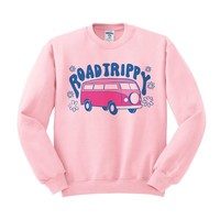 Road Trippy Crewneck Sweatshirt