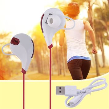 Bluetooth Wireless Stereo Earphone Sport Earbuds Universal Sweatproof Earpiece