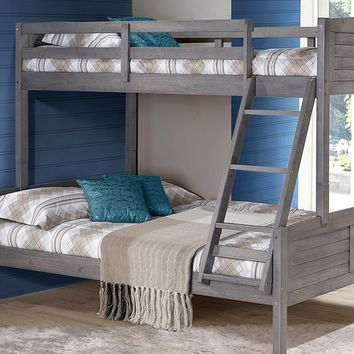 Madison Gray Twin over Full Bunk Bed