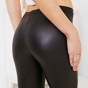 Out From Under Matte Vegan Leather Legging-