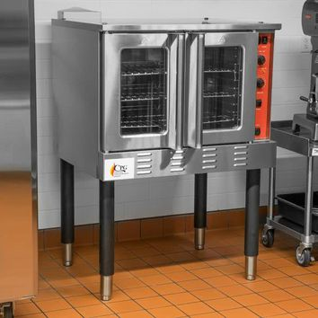 Convection Oven FGC100L Single Deck Full Size Electric with Legs - 54,000 BTU