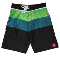 Charger Stretch Boardshort Blue/Yellow (36)
