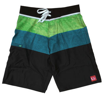 Charger Stretch Boardshort Blue/Yellow