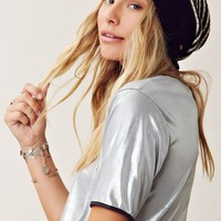 Free People Striped Sailor Beanie