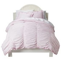 Simply Shabby Chic® Ruched Comforter Set - Pink (Twin) : Target