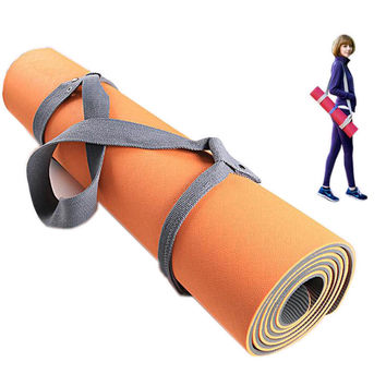 Elastic Yoga Pilates Mat Sling Strap Exercise Stretch Adjustable Belts Fitness Gym Sports Exercise Multifunctional Belt
