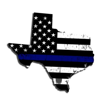 Texas Island Distressed Subdued US Flag Thin Blue Line/Thin Red Line/Thin Green Line Sticker. Support Police/Firefighters/Military